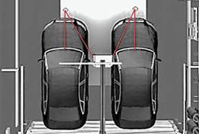 Accu Park Laser Garage Parking Guidance System